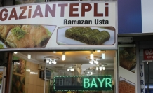 Gaziantepli Ramazan usta lezzet sunmaya devam Ediyor