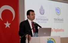 """Başkan İmamoğlu'ndan Tekirdağ Çıkarması : """"Marmara İyi Planlanırsa, Türkiye Soluk Alır"""""""