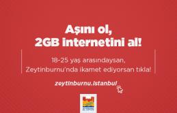 Aşı Olan Gençlere 2GB Internet