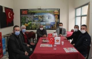 AK PARTİ' Den Malatyalılar Derneğine Ziyaret