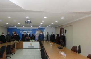 MADEF'TEN AK PARTİ'Ye Hayırlı Olsun Ziyareti