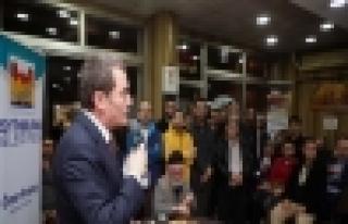 Başkan Arısoy 'Yenidoğan Mahallesi'ni Dinledi