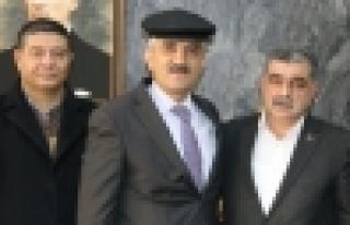 Gakkoşlar Kaymakam Mehmet Makas'ı ziyaret etti