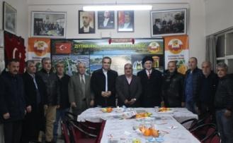 MHP ve Erbakan Vakfından ZEYMADER'e Ziyaret