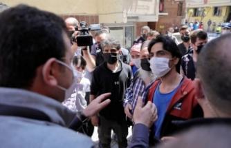 """İmamoğlu' ndan  """"Hasar Tespit"""" Sitemi : """"Bazı Binalara Belediyeler Sokulmuyor Bile"""""""