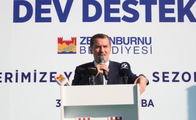 Zeytinburnu Belediyesi'nden Amatör Spor Kulüplerine Dev Destek
