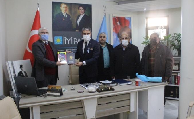Malatyalılardan MHP ve İYİ Partiye Ziyaret