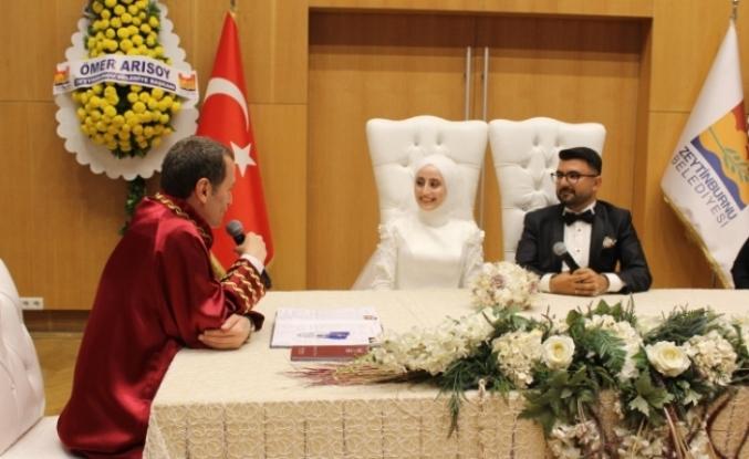 Fatma Zehra Balcı Ve Samet Karaman Evlendi