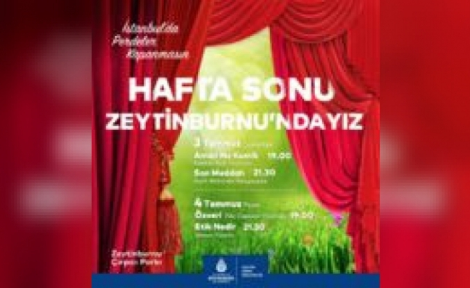 İstanbul'un Park, Salon Ve Ekranlarında Perdeler Açılıyor