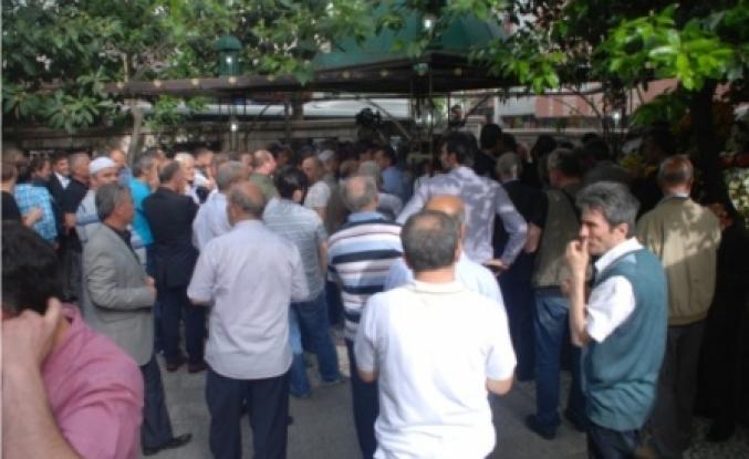 Arnavut Burhan son kez Köşeli camiye geldi