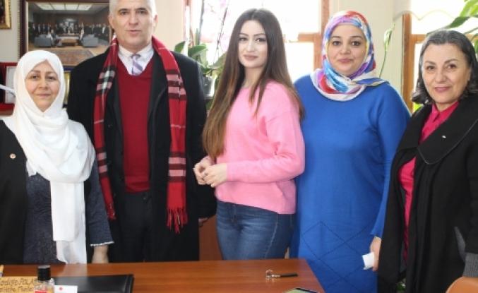 GZP Nadiye Polat'ı Ziyaret Etti