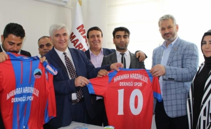 Marmara Mardinliler Derneği Spor Takımı Kuruldu