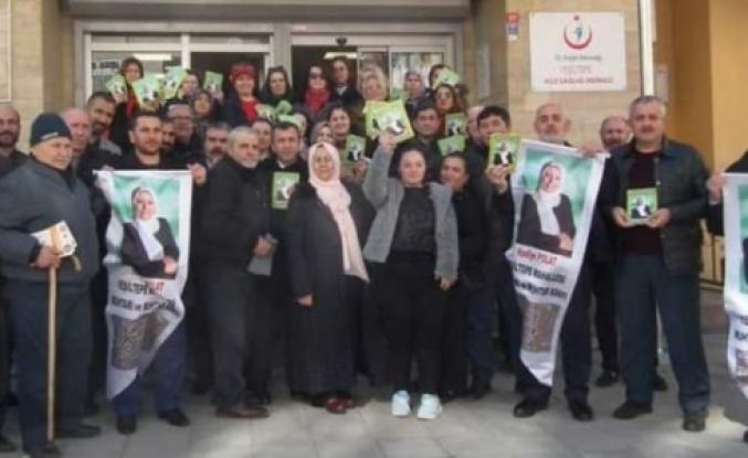 Nadiye Polat'a Yeşiltepe mahalle halkı ve esnaftan büyük destek